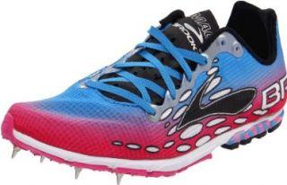 Brooks Womens Mach 14 Spike Running Shoe Shoes
