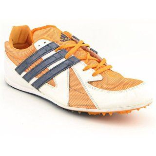 Adidas Titan LD Mens SZ 14 Orange Cleats Track Field Shoes Clothing