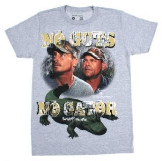 Swamp People No Guts No Gator Joe & Tommy Mens Shirt (XX