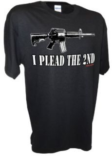 Mens I Plead the 2nd Second Amendment Pro Gun Rights Ar15