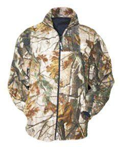 Mens 10X Scentrex Bonded Fleece Camo Jacket, REALTREE AP