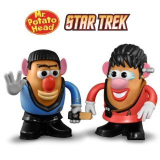 Star Trek Potato Heads Spock and Uhara