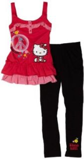 Hello Kitty Girls 7 16 Tunic & Legging Set,Teaberry,12