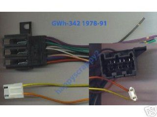 Stereo Wire Harness Chevy Pickup 84 85 86 87 (car radio
