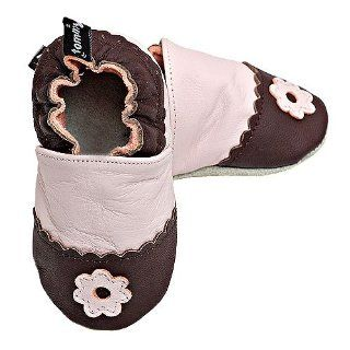 Tickle Baby Girls Brown Soft Soled Shoes 18 24M Tommy Tickle Shoes