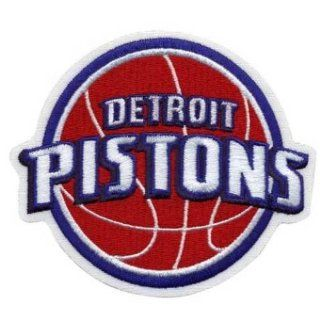 Detroit Pistons Logo Patch Sports & Outdoors