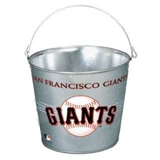 San Francisco Giants Galvanized Pail 5 Quart   Ice Buckets