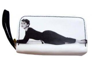 Audrey Hepburn Classic Coin Lipstick Cosmetic Purse Bag Shoes