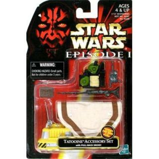 STAR WARS   EPISODE 1  SET DACCESSOIRES TATOOINE   Achat / Vente