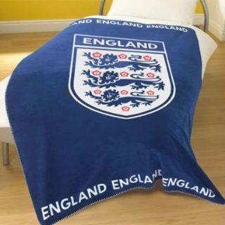 England Fleece Blanket Throw: Sports & Outdoors