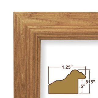 23x29 Picture / Poster Frame, Wood Grain Finish, 1.25