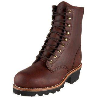Chippewa Mens 8 Logger Boot Shoes