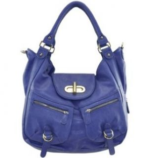 Melie Bianco Womens Alyssa Iii Handbag Royal No Size