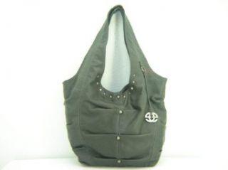 Marc Ecko Dreamer Hobo Handbag Purse ~ Dark Grey In Color