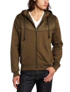 Rusty Mens Archive Army Hooded Jacket, Army, X Small