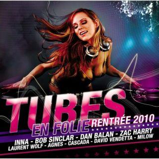 COMPILATION   Tubes en Folie Rentrée 2010   Achat CD COMPILATION pas