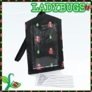 Cute Ladybugs Luggage Tag Travel Accessories  Gifts and