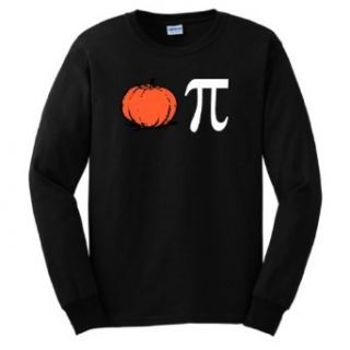 Pumpkin Pi Pie Long Sleeve T Shirt Funny Thanksgiving