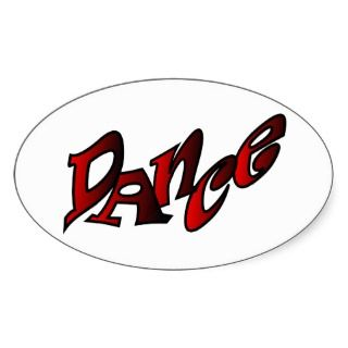 Graffiti Art Sticker Dance