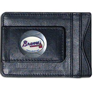 Atlanta Braves Money Clip/Credit Card Holder Sports