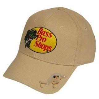 BASS PRO SHOPS HAT CAP FISHING BAIT KHAKI STONE TAN