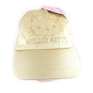 Cap Hello Kitty golden rhinestone. Clothing