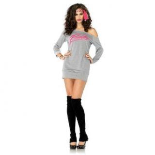 Flashdance Sweatshirt Dress Adult Costume Clothing