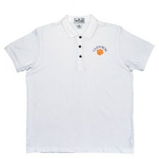 Clemson Tigers NCAA Classic Pique Polo Shirt for Women