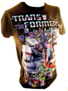 Transformers Mens T Shirt   Classic Cartoon Decepticon