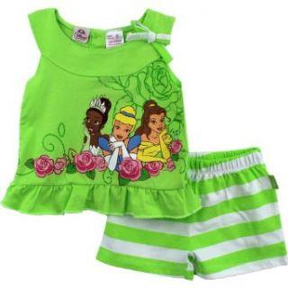 Disney Princess Tiana Cinderella Belle Toddler Girls Tank