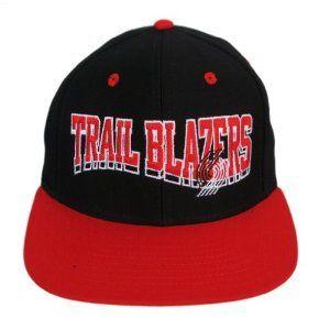 NBA Retro Wave Portland Trail Blazers Hat Cap Hat   2 Tone