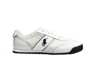 Runner II Big Kids Shoes [94361] White/Navy Boys Shoes 94361 7 Shoes