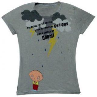 Family Guy   Forecast Doom Juniors T Shirt Clothing