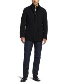 Marc New York by Andrew Marc Mens Keenan Wool Twill Car