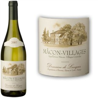 2007   Achat / Vente VIN BLANC Lanques Mâcon Villages 2007