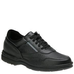On Road Walking Shoes,Black/Grey Full Grain Leather,7.5 M US Shoes