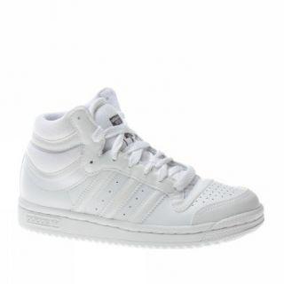 Adidas Trainers Shoes Kids Top Ten Hi K White Shoes