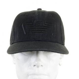Cap Armani Jeans black baseball cap 06481 XE AJM2266