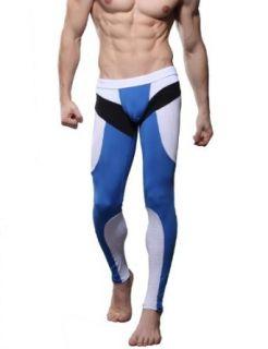 SEOBEAN Mens Underwear Pants Long John 2 Colors Clothing