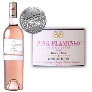 Listel Pink Flamingo Gris de Gris 2011   Achat / Vente VIN ROSE Listel