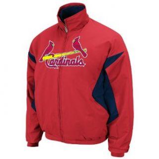 MLB St. Louis Cardinals Triple Peak Premier Jacket, Red