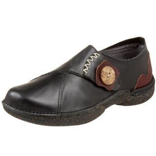 Womens Geneve Slip On,Black/Rosewood,35 EU (US Womens 5 M) Shoes