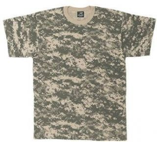 Kids camouflage T Shirts ACU Digital Camo Tee Clothing
