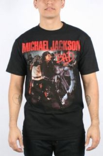 Michael Jackson   Mens Bad Photo T Shirt In Black
