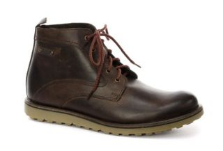 Base London Ash Dark Brown Mens Ankle Boots Shoes