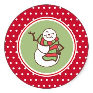 sticker retro holiday style use these christmas stickers for gifts