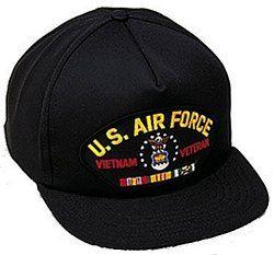 U.S. Air Force Vietnam Veteran Ballcap Clothing