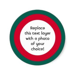 Christmas Border Stickers