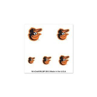 BALTIMORE ORIOLES OFFICIAL LOGO FINGERNAIL TATTOOS: Sports