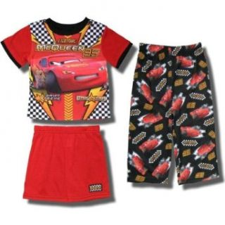 Cars   Lightning McQueen Drift Xtreme 3 piece Pajamas